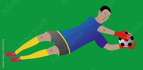 Fussball Torwart Buy This Stock Vector And Explore