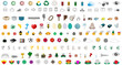 one hundred fifty emoticons