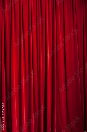 Fotografía  Red curtain d