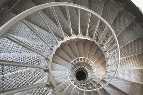 Fototapety, obrazy: Spiral staircase to infinity