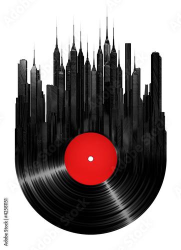 Vinyl city #42581151