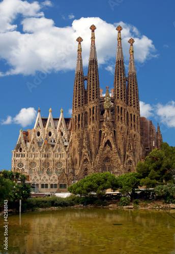 Papiers peints Barcelona La Sagrada Familia