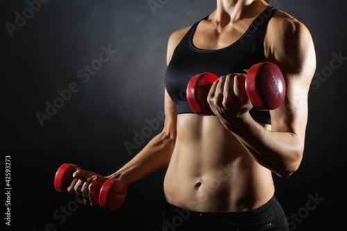 Sports woman - 42593273