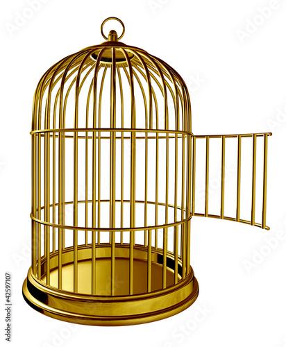 Valokuva Open Bird Cage