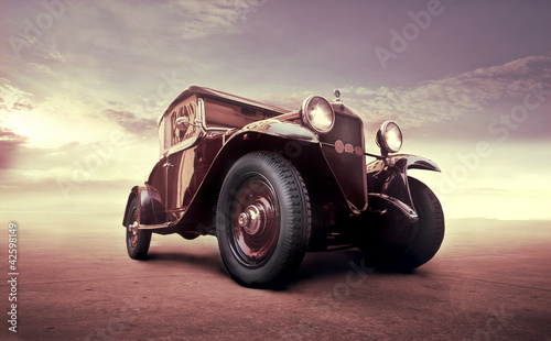 Spoed Foto op Canvas Vintage cars Vintage luxury