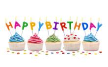 Happ Birthday Cupcakes