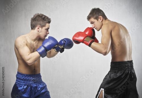 Láminas  Boxe match