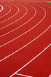 canvas print picture - athletic track