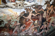 canvas print picture - Florence - Duomo .The Last Judgement. Inside the cupola