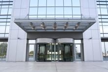 Business Building Entrance