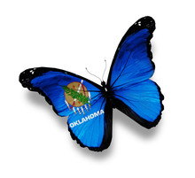Flag Of Oklahoma Butterfly, Is...