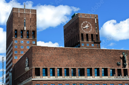 Photo  City Hall (Radhuset), Oslo, Norway