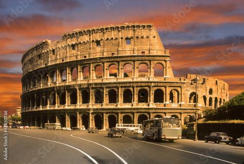 Fényképezés  roman colosseum
