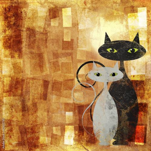 Keuken foto achterwand Bestsellers The Cats