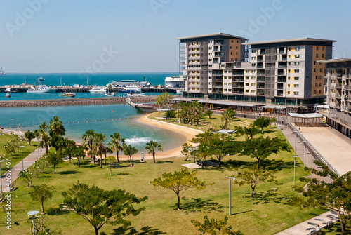 Foto op Canvas Australië Darwin City Waterfront development