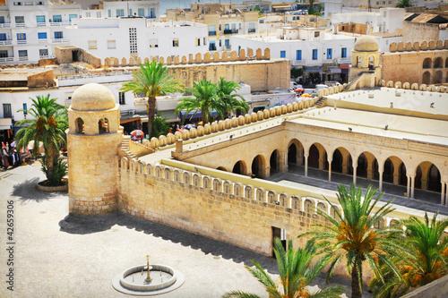Staande foto Tunesië Great Mosque in Sousse