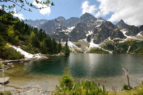 Polish Tatra mountains Morskie Oko lake - 42660566