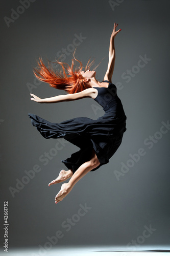 Foto op Aluminium Dance School the dancer