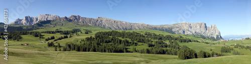 Fotografia  Massiccio dello Sciliar Dolomiti
