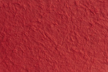 Textured Paper With A Fibrous Look, Red