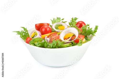 Tuinposter Groenten Healthy vegetarian Salad