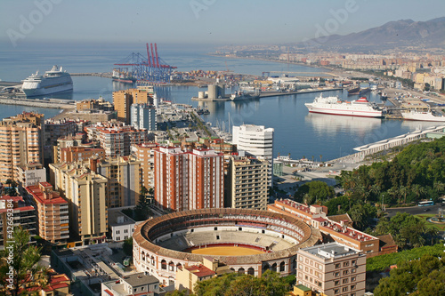 Málaga, vista panorámica