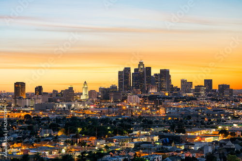 Photo sur Toile Los Angeles Los Angeles