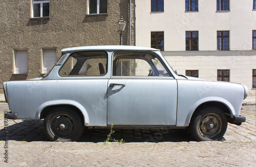 Old Trabant Canvas Print