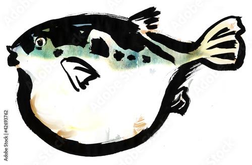 Globefish Wallpaper Mural