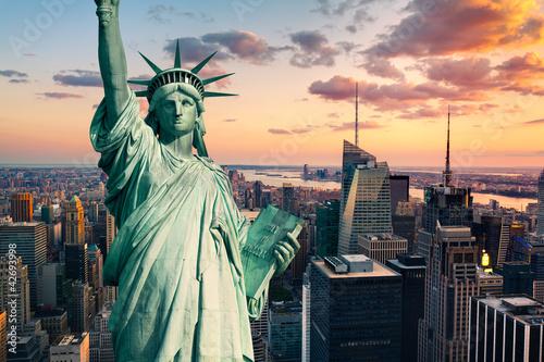 Plakat Statua wolności w Nowym Jorku