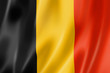 canvas print picture - Belgian flag