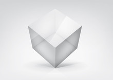 Vector  Transparent Cube For Y...
