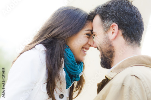 Photo  Pareja joven de enamorados