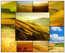 Tuscany Collage