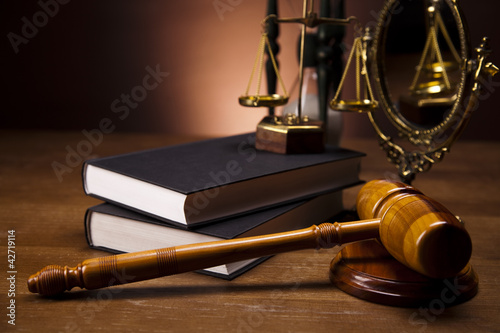 Judge gavel Fototapeta