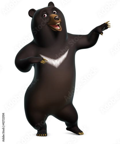 Foto op Aluminium Sweet Monsters dancing bear