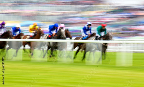 Royal Ascot Horse Race Canvas Print