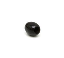 Black Olives On A White Background