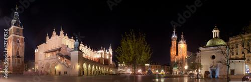 fototapeta na drzwi i meble Kraków Rynek
