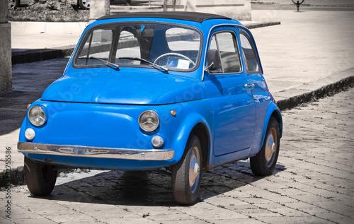 Deurstickers Oude auto s Vintage car.