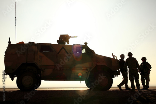 German Army in Afghanistan Wallpaper Mural