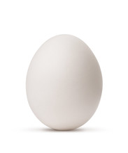 Egg Isolated On White Backgrou...