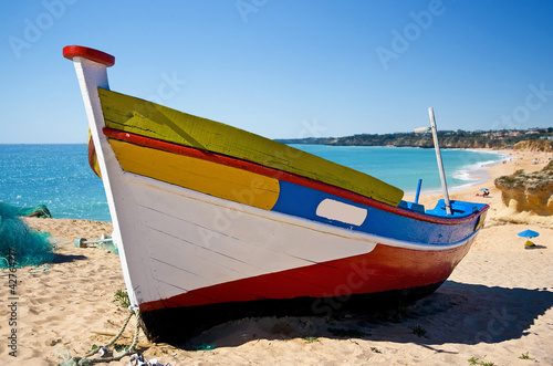 Foto Rollo Basic - Fishing Boat (von woodsy)