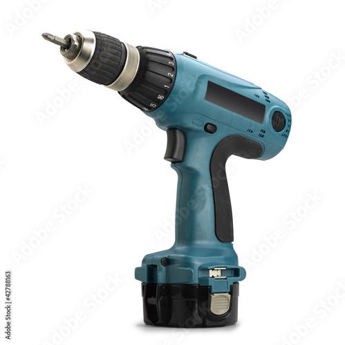 Fotografia  Battery drill