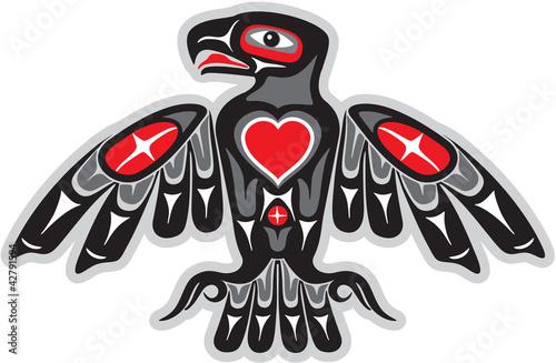 Fotografie, Obraz  Eagle - Native American Style
