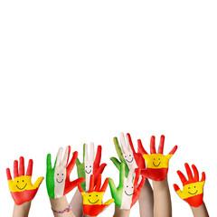 Jubelnde Hände Euro 2012