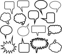 Word Balloon Icons