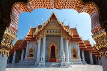 Temple De Marbre, Bangkok, Tha...