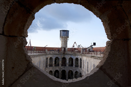 Fotografía inside Fort Boyard  - view on the watch tower - France