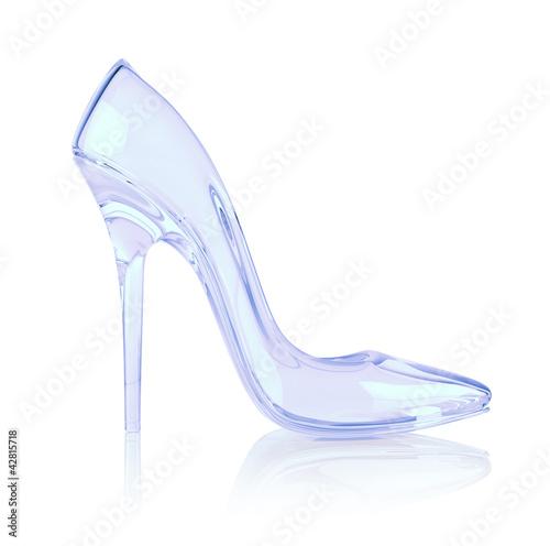 Fotografie, Obraz  crystal high heel